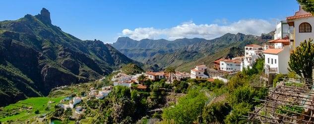Pueblo de Tejeda (Canarias)