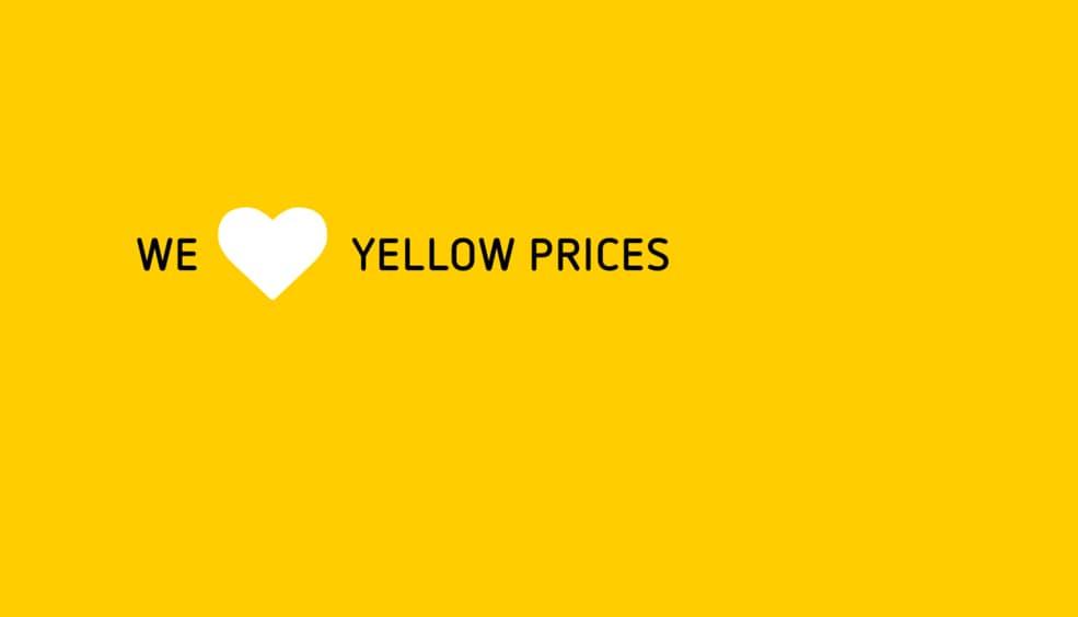 be2a8ad77 Yellow Prices  los precios más baratos para tu viaje