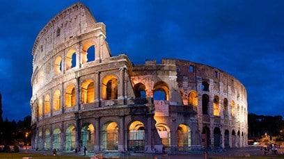vlucht en hotel rome