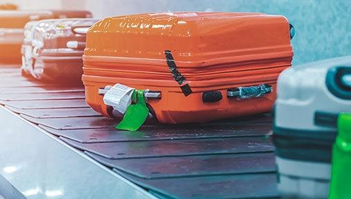 Ocorrências com a bagagem