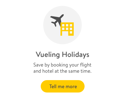Cheap flights, hotel deals, rental car | vueling com
